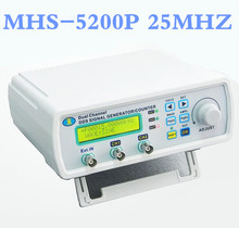 MHS-5200P Digital Dual-channel DDS Signal Source Generator  Function signal  Arbitrary waveform generator 25MHz Amplifier 5MHz