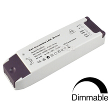 (10pcs/lot) DALI/ 0/1-10V / PWM/ Resistor 4 in1 dimming constant current 30-48V 600mA 28.8W dimmable LED driver