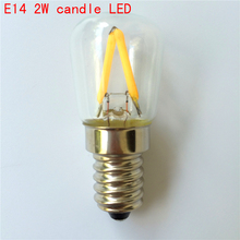 Mini E14 LED Filament Bulbs 2W 4W AC220V 230V 240V 360 Degree Retro lighting Refrigerator Lamps Fridge Chandeliers Bombillas