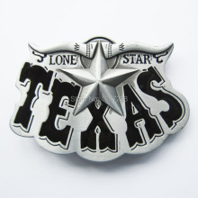 Distribute Belt Buckle Black Western Texas Star Belt Buckle Free Shipping 6pcs Per Lot Mix Style is Ok(China)