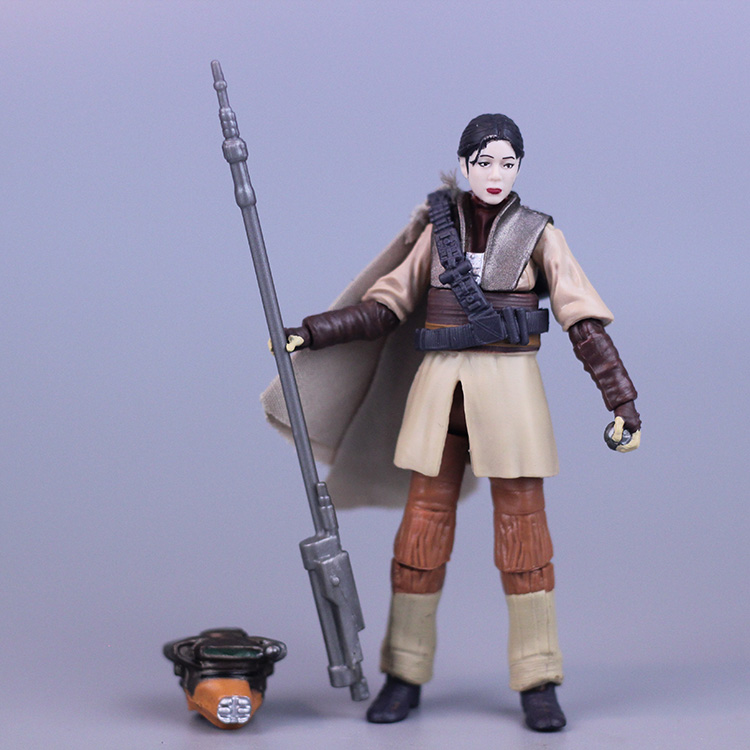 3.75 action figure  Star Wars Princess Leah Free shipping (Y0975)<br>