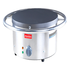 1PC Commercial electric manual spinning class ji furnace shredded cake machine 45 cm diameter Fried pancakes(China)