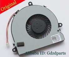 For Dell Inspiron 15R 3521 3537 3721 3737 5521 5537 5735 5737 Cpu cooling fan  DC5V 0.35A 3-wire 3-pin connector