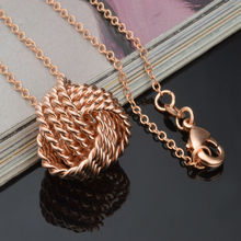 Drop shipping gold / silver color 18mm mesh ball pendant+ rolo chain necklace for women,fashion women jewelry,hot sell necklace
