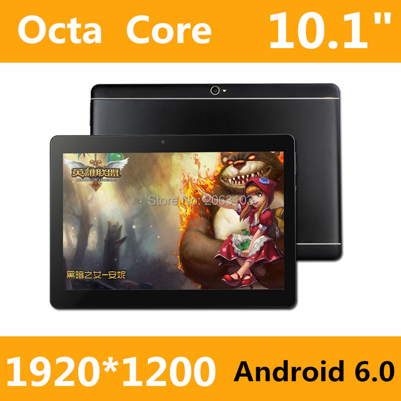New design 10.1 Inch Original 3G phone tablet 8 Core pc tablet Android 6.0 tablet 4GB RAM 128GB ROM GPS 4G+128G Tablet pc 7 8(China)