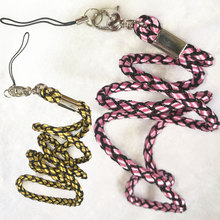 1Piece Cell Phone Mobile Weave Neck Chain Straps Camera Straps Key Keychain Charm Hang Rope Lariat Lanyard MP5 4 U flash disk