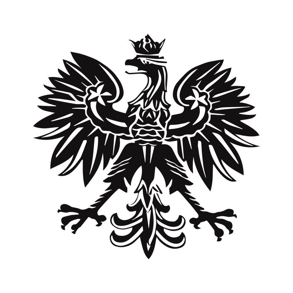 Cunymagos Polish Eagle Poland Symbol Fashion Car Stickers Animal Pattern Car Styling Decal Sticker Auto Motorcycle 15.2CM15 (3)