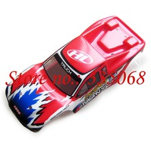 HENGLONG 3851-3 RC mini car Sacker sport 1/18 spare parts no.12003 Red Car body shell / car shell / car body