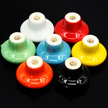 Candy color Door Handle Ceramic Door Handle Single hole Drawer Handle 7 colors for choose