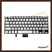 Original Sliver Laptop Replacement US English Keyboard For DELL XPS 15Z 14Z L511Z Tested Well With Backlight