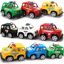 Brinquedos Juguetes Oyuncak Plastic Pull Back Diecasts & Toy Vehicles Cars Children Eduional Toys Mini Classic Polic Car(China)