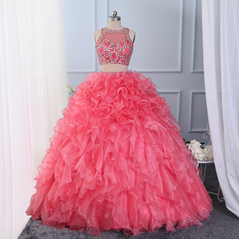 2 piece quinceanera dresses 2016