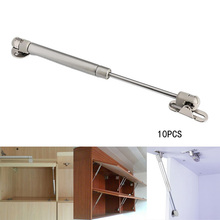 10Pcs/Set 100N/10KG Home Door Lift Pneumatic Support Hydraulic Gas Spring Holder Pneumatic Hardware for Kitchen/Cabinet/ Door
