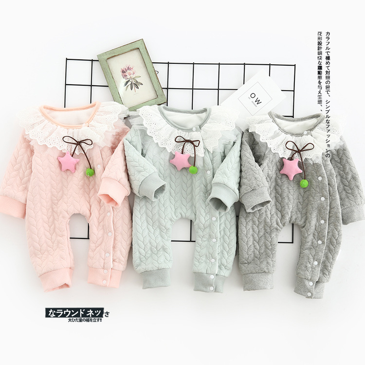 2017 new spring Autumn Baby rompers Newborn Cotton tracksuit Clothes bebes Long Sleeve Underwear Infant Boys Girls jumpsuit<br><br>Aliexpress