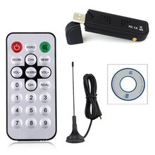 Hot Sale Digital USB TV FM+DAB DVB-T RTL2832U+R820T Support SDR Tuner Receiver