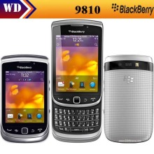9810 original Blackberry 9810 unlocked moblie phone GPS WIFI 5MP JAVA QWERTY Keyboard One Year Warranty