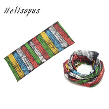 Helisopus Fashion Magic Headband Scarf Bandana Face Mask Neck Warmer Multi Functional Riding Bike Unisex Sunscreen Head Scarves