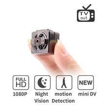 Full HD Video 1080p DV DVR Mini Camera Camcorder SQ8 Micro Cam Motion Detection With Infrared Night Vision mini dv camera(China)