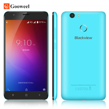 Blackview E7 4G Mobiel phone MT6737 Quad Core Fingerprint ID smartphone Android 6.0 5.5 inch 1GB+16GB 8MP cell phone Free Gift