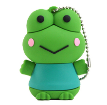 hot sale 100pcs/lot cartoon Frog usb flash drive pen drive 8gb 16gb 32gb pen drives memory stick disk on key AD gift usb