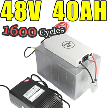 48v 40ah lifepo4 battery for electric bicycle battery pack scooter ebike 2000w