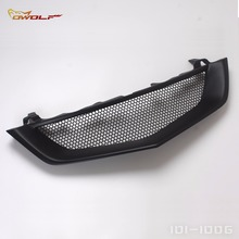 Matt Black Bumper Mesh Front Grill For Acura TL Inspire 2002 to 2003 Type S SKU 2081046(China)