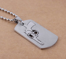 New special 316L stainless steel cool wholesale from yiwu market  gun shape pendants for  making jewelry