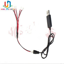 3.7V 1 Converting 5 Lipo Battery Balance USB Charger Conversion Charging Cable Line for Cheerson CX-10 jjrc H20 and so on