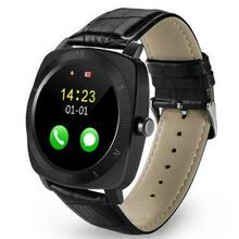 New Smartwatch X3 Smart Watch Android Fitness tracker Mp3 player Clock Sports Wristwatch SIM Watch for android wearable devices(China)