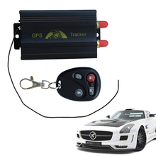 China Ebay Hot Sale TK103B Vehicle Car GPS Tracker with Remote Control GSM Alarm SD Card Slot Car Alarm System GPS Monitor(China)