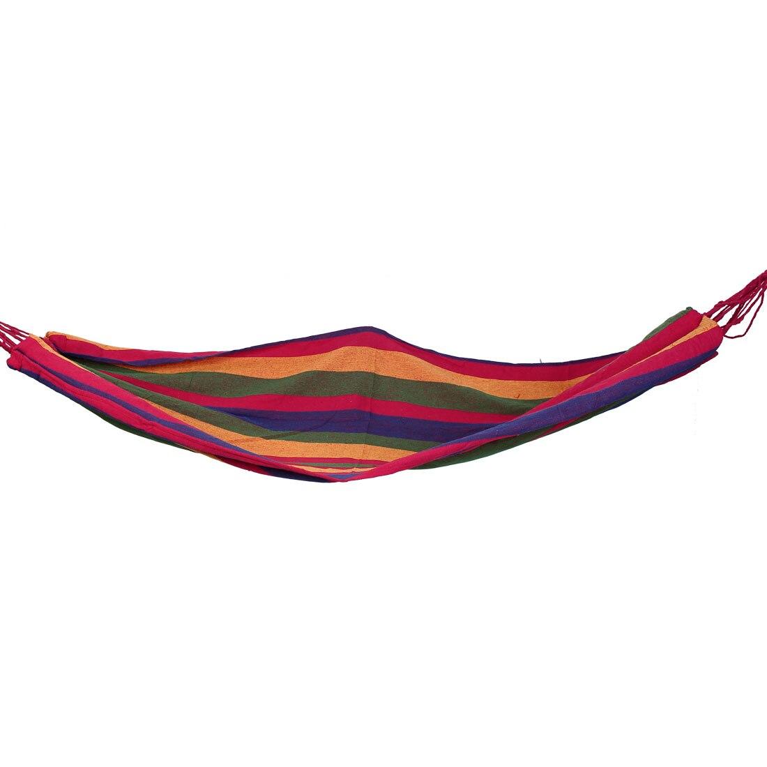 Путешествие Outdoor Garden Camping Colorfull раздевает гамак холста, спя кровать 280Cmx82 см W нейлоновая группа