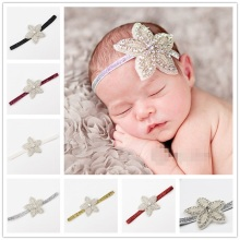 Naturalwell Girls Star Rhinestone Hairband Newborn Rhinestone Headbands Kids Hair band Star Headpiece Newborn Photo prop HB095(China)