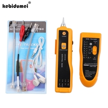 kebidumei UTP STP RJ11 RJ45 Cat5 Cat6 Telephone Wire Tracker Tracer Toner Ethernet LAN Network Cable Tester Detector Line Finder(China)