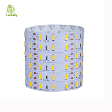 Tanbaby LED strip 5630 DC12V 5730 led rope 5M 300leds not waterproof 5M/roll flexible led bar light indoor decoration