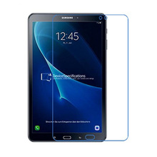 "2Pcs 9H Tempered Glass Screen Protector Film for Samsung Galaxy Tab A 10.1 T580 T585 10.1"" + Alcohol Cloth + Dust Absorber"
