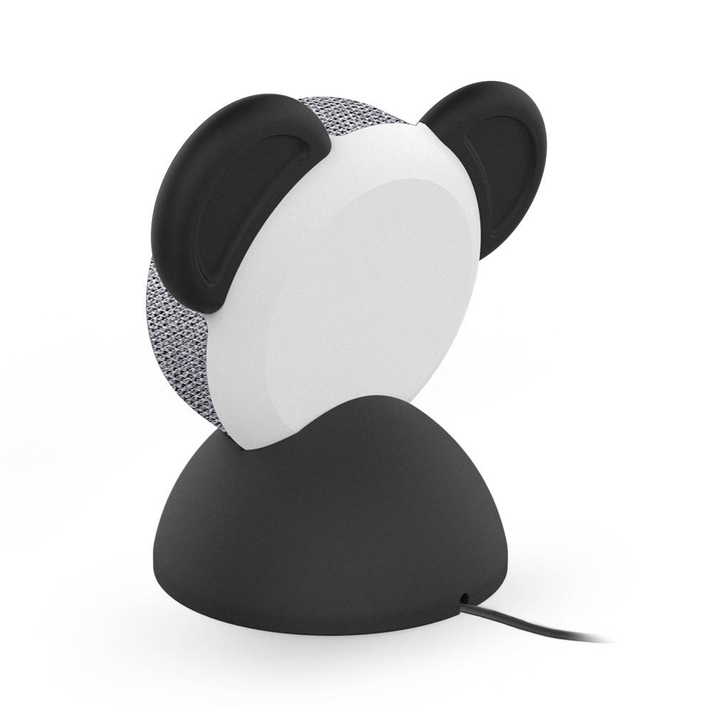 Panda Outlet Hanger Base Non-Slip Desk Stand Holder For Echo Dot 3rd Generation