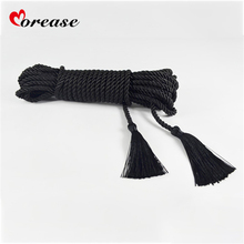 Buy Morease 10M Weave Tie Ropes Erotic Bundles Fetish Sex Rope Bondage Long BDSM Roleplay Sex Toy Kit Soft Safe Adult Game
