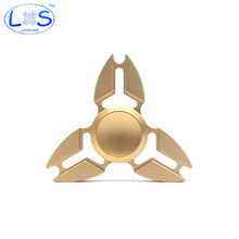 Colorful  Creative Funny Metal Two-Spinner Fidget Toy EDC Hand Spinner Rotation Time Long Anti Stress Toys Child Gift