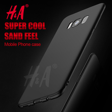H&A Soft Silicon Matte TPU Case For Samsung Galaxy S8 S8 Plus S6 S7 Edge Cover For Samsung J3 J5 J7 A3 A5 A7 2017 2016 Case