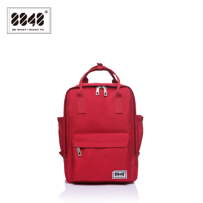 Fashion Backpack Teenager Girls School Bag Pattern 8848 Brand Backpacks Soft Handle 10 L Capacity Preppy Style Casual S15008-5<br><br>Aliexpress