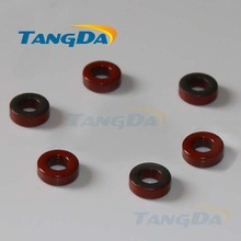 Tangda Iron powder cores T37-2 OD*ID*HT 10*5*3.5 mm 4nH/N2 10uo Iron dust core Ferrite Toroid Core Coating Red gray