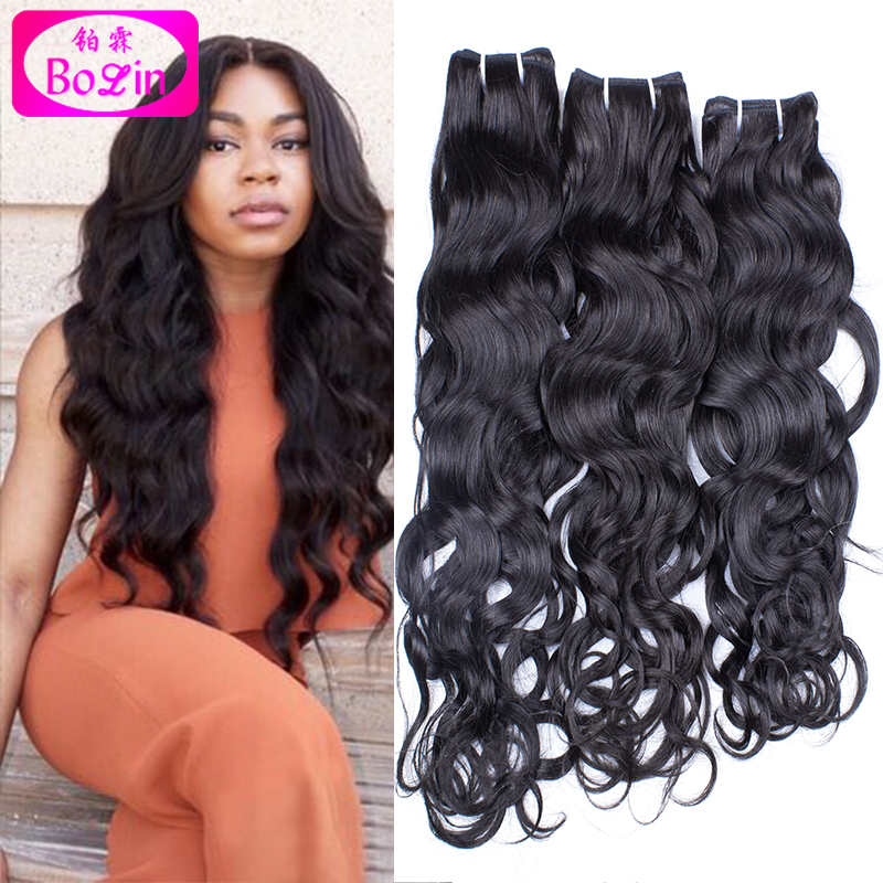 Aliexpress Brazilian Hair Wet And Wavy Unprocessed Brazilian Virgin Hair Weave Brazilian Water Wave 4 Bundles Human Hair Weave<br><br>Aliexpress