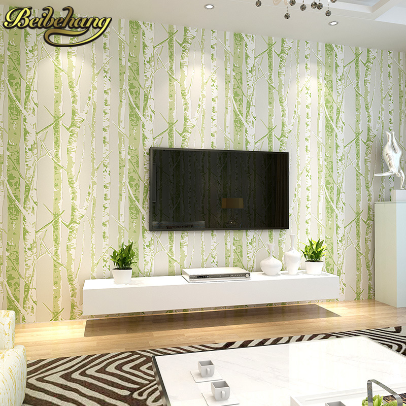 beibehang papel de parede 3d simple abstract tree branches pattern non woven wallpaper for walls 3 d wall paper roll living room<br>