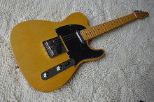 NEW!High Quality yellow tele guitar Ameican standard telecaster electric Guitar stock Chinese New Year will be normal delivery.