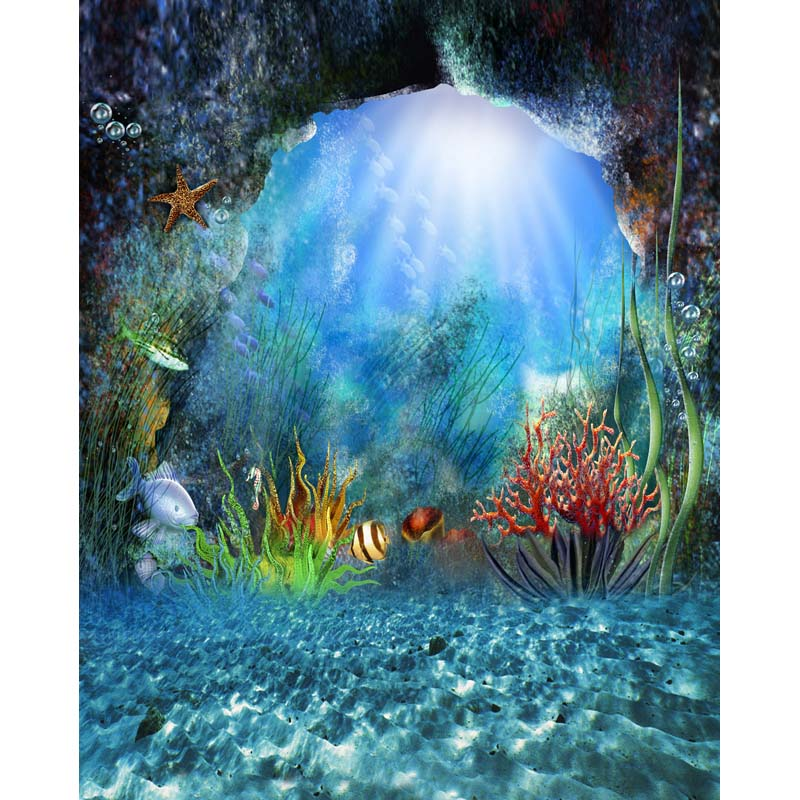 Vinyl photography background Computer Printed Painting backdrops for Photo studio mermaid backdrop<br><br>Aliexpress
