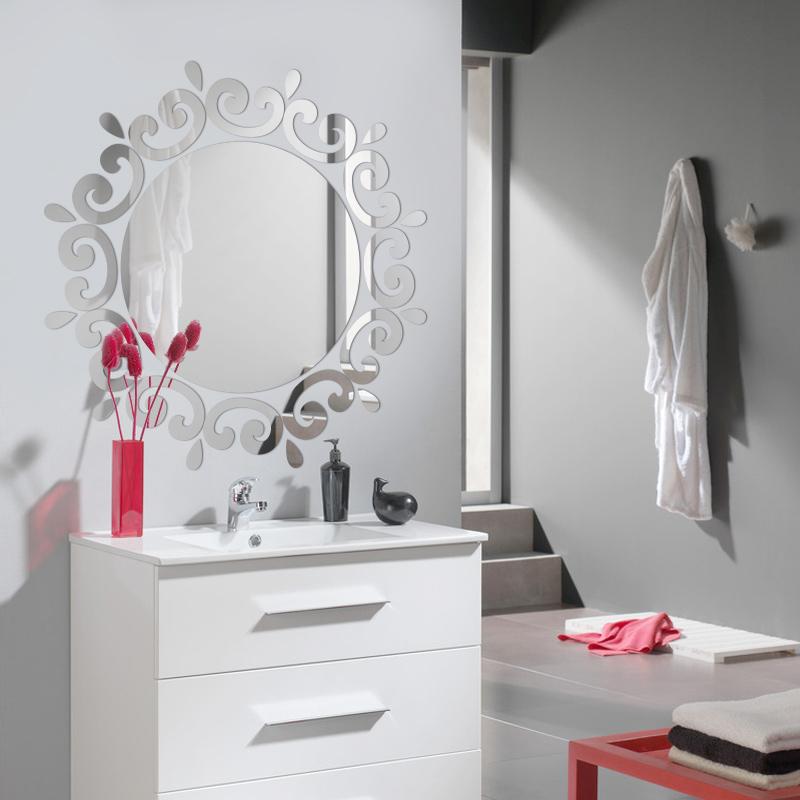 cristal acrlico espejo de pared pegatinas de bao restaurante espejo en el techo del porche