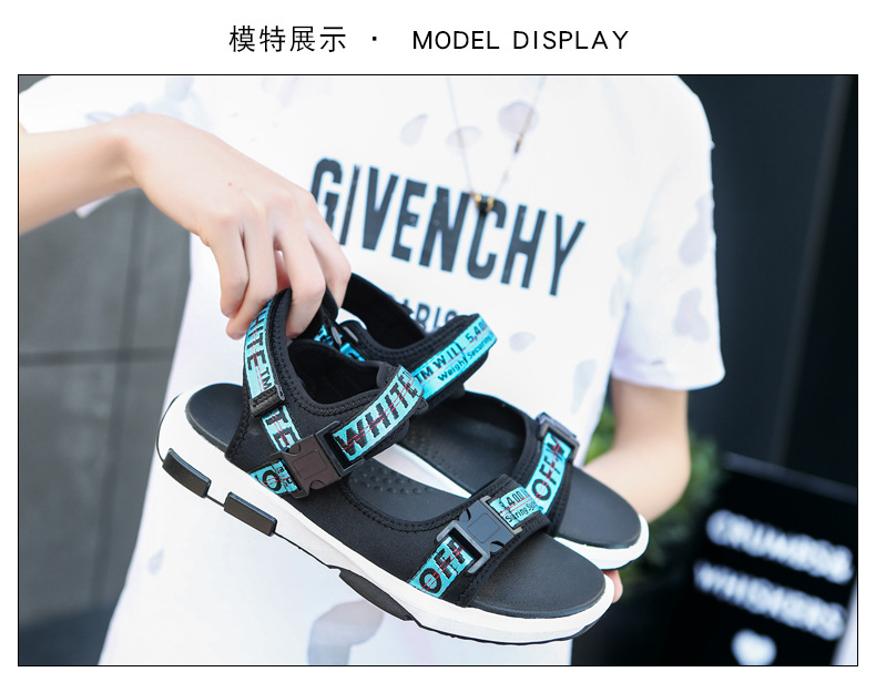Summer Men Beach Sandals Fashion Breathable Walking Shoes Male Adult Comfortable Flat Sandals Outdoor Footwear Chaussures Homme 21 Online shopping Bangladesh