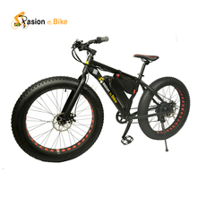 "Pasion ebike 36V 500W  electric fat bike 36V Lithium Battery E bicycle 26""X4.0 Off road Electric bicycle"