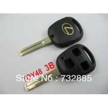 Special offer Best quality for Lexus remote key shell 3 button (without the paper words)(China)
