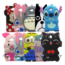 For Huawei Honor 4C Pro Case Cartoon character Cover Case For Huawei Y6 Pro Y6pro Back Cover For Huawei Enjoy 5 Silicone case(China)